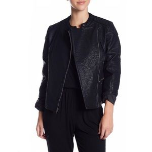 Cupcakes and Cashmere Donny Faux Leather Jacket